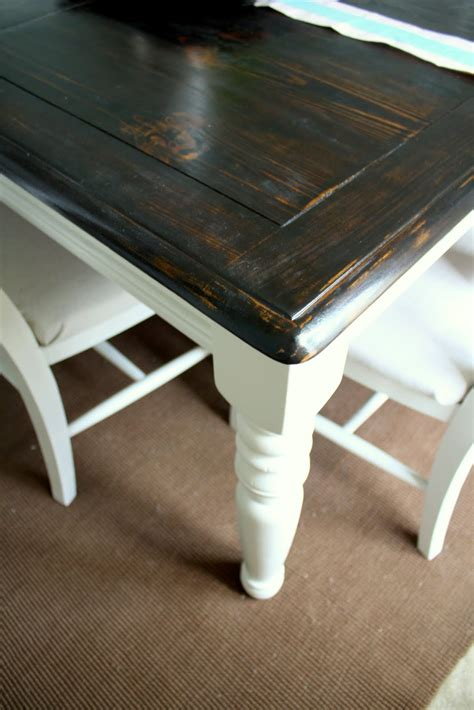 Refinished Kitchen Tables Dining Table Refinish Dining Table Paint
