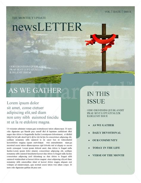 christian newsletter templates free church newsletters template newsletter templates