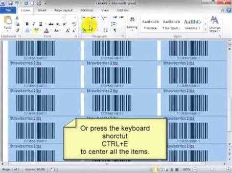 membuat barcode di excel 2010 cara membuat barcode pada excel doovi