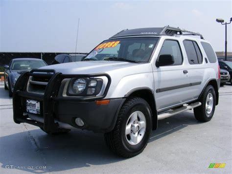 nissan xterra silver 2002 silver ice metallic nissan xterra xe v6 4x4 32808500