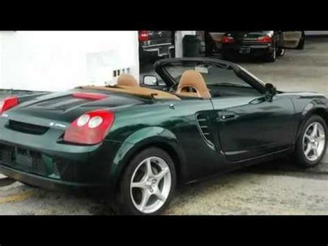 Toyota Spider Recall 2003 Toyota Mr2 Spyder Problems Manuals And Repair