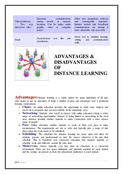 Distance Learning Mba Advantages Disadvantages by Advantages And Disadvantages Distance Learning
