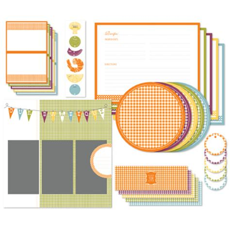 bbq recipe card template the sters mess cards scrapbooking and other