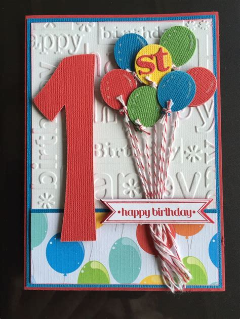 Birthday Card For A 25 Unique 1st Birthday Cards Ideas On Pinterest Baby