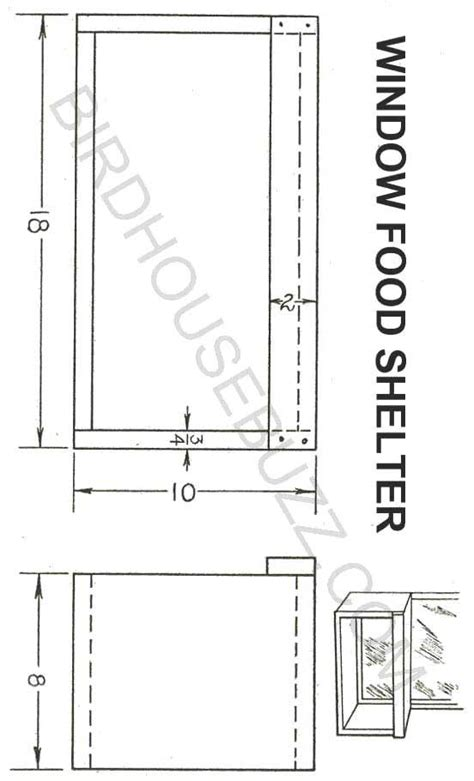 window bird house plans desk see thru bird house plans