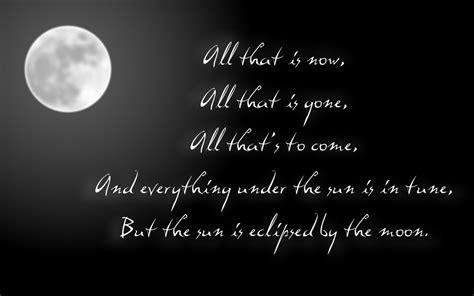 quotes about lunar eclipse quotesgram