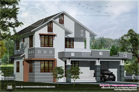 1st floor veranda design 1979 square villa design kerala home design and