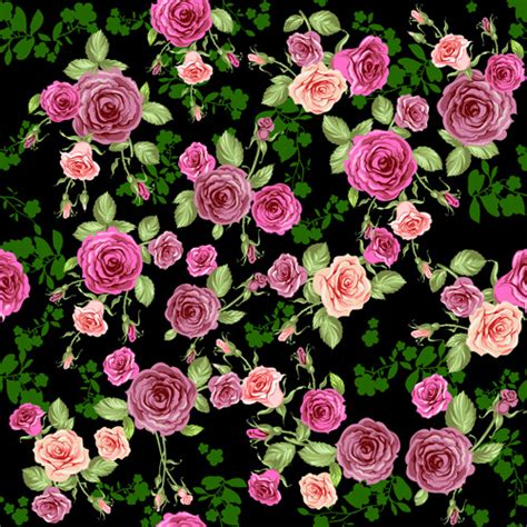 black pattern rose image gallery rose pattern
