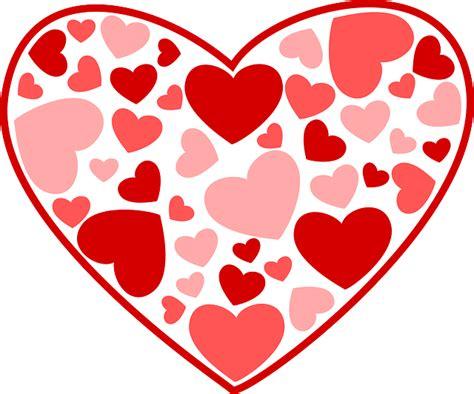 de corazones rosas y rojos sobre un fondo blanco imagenes sin vector gratis corazones el amor rosa rojo imagen