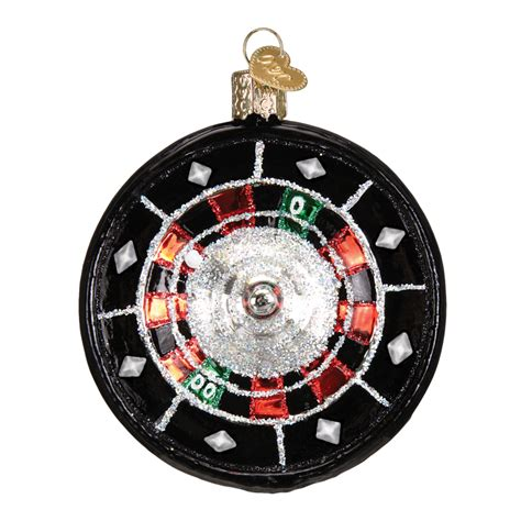 roulette wheel old world christmas ornament