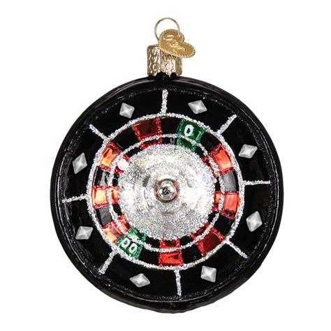 roulette wheel old world christmas ornament
