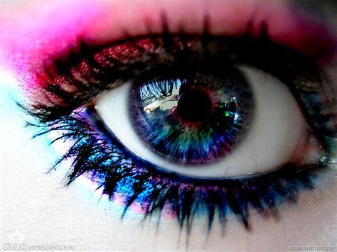 imagenes de ojos emo 色彩斑斓的眼睛摄影图 人物摄影 人物图库 摄影图库 昵图网nipic com
