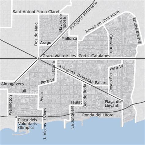 mapa de sant marti barcelona viviendas en alquiler