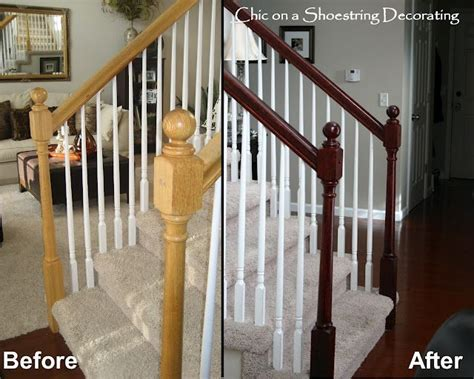How To Paint Stair Banisters Railings by 17 Best Ideas About Painted Stair Railings On