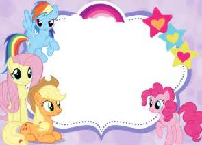 free printable invitations my little pony party