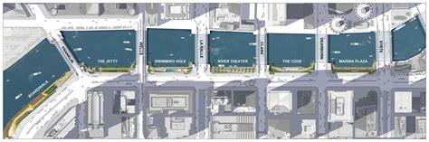 Architecture Plan gallery of chicago riverwalk proposal sasaki associates