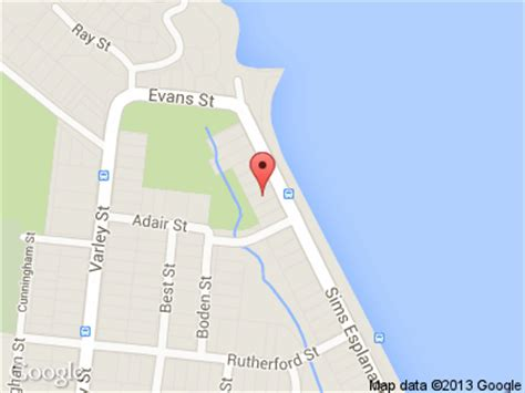 Yorkeys Knob Map by Cairns Beaches Accommodation Yorkeys Knob Accommodation Beachfront Apartments