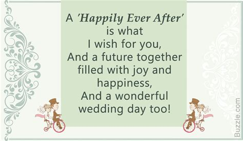 Wedding Wishes Poem by From Your Words Of Congratulations For A
