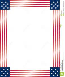 american flag frame vector royalty free stock photo