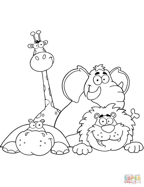 coloring pages of dangerous animals dangerous animals in africa coloring pages coloring pages
