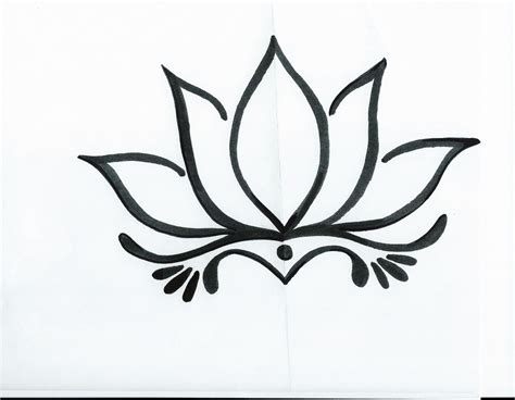 simple tattoo designs to draw ascending lotus tattoos ideas inspirations