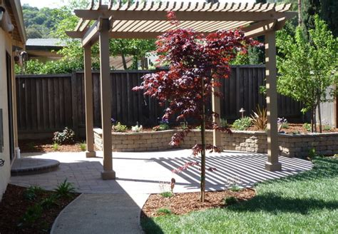 Backyard Structure by Backyard Pergola Shade Structures Traditional