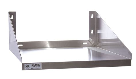 Wall Shelf For Microwave Oven by Atlantic Metalworks Mws 2424 E Economy Stainless Steel