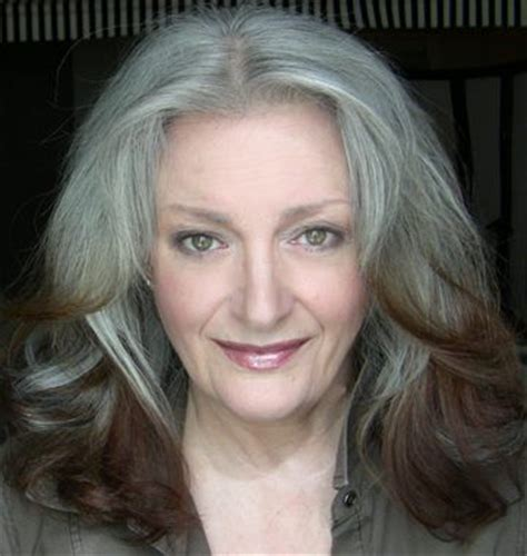 how to bring out the grey in hair sharon danley aarp angel amazing matures pinterest