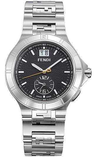 Dual Time Zip Code By Fendi by Fendi High Speed Dual Time Mens F477110