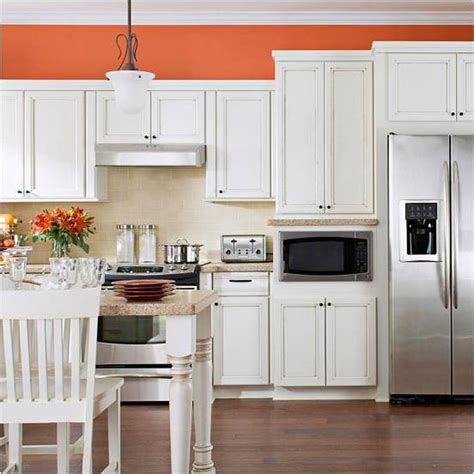 orange kitchen ideas country homes