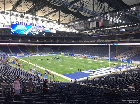 Ford Field Section 113 Detroit Lions Rateyourseats Com