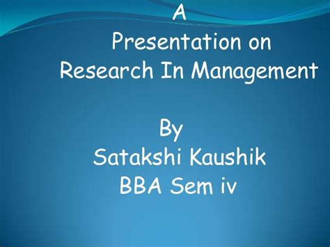 research design powerpoint slides ppt on research design