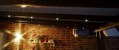 dekor terrasse dach - Beleuchtung Terrassenüberdachung