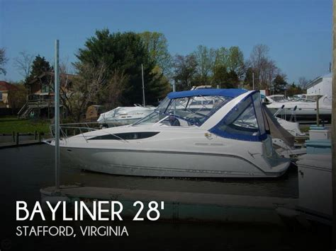 used bay boats for sale virginia for sale used 2004 bayliner 285 ciera sb in stafford