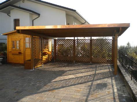 tettoie per legna tettoie in legno pergolati in legno a verona