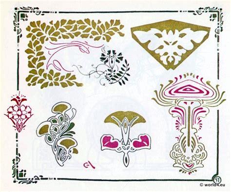ornamente jugendstil 40 best images about jugendstil outline on