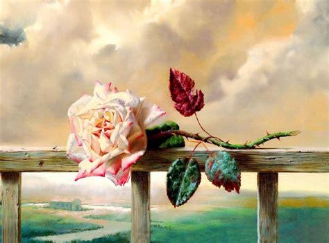 pintores que pintan imagenes no realistas cuadros modernos pinturas y dibujos cuadros de flores al