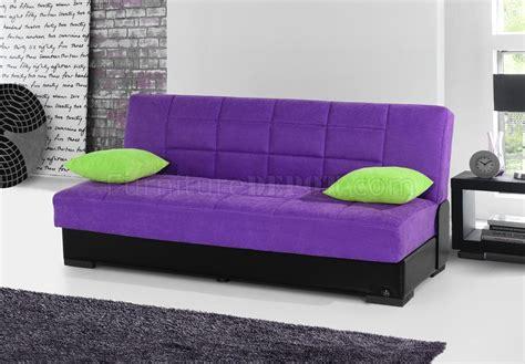 purple microfiber couch planet sofa bed convertible in purple microfiber by rain