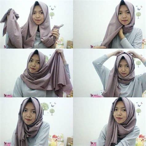 tutorial hijab pashmina simple untuk lebaran tutorial hijab katun rawis segi empat kumpulan contoh