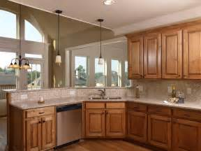 kitchen color schemes with oak cabinets best home