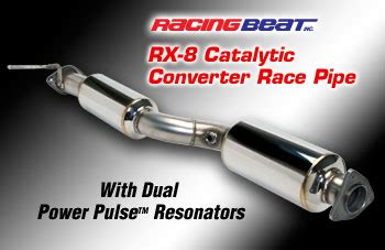 mazda rx8 cat mazda rx8 silenced de cat pipe to fit any rx 8 model from