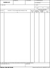 dd 3 5 template list the dd form 1750 can help you make a professional and
