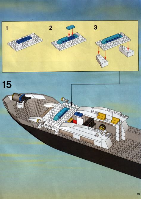 lego boat police 7899 lego police boat instructions 7899 city