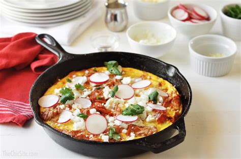chilaquiles frittata the chic site