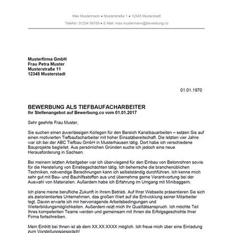 Bewerbungsschreiben Ausbildung Rechtsanwalts Und Notarfachangestellte bewerbung muster strassenbauer