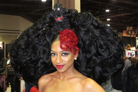 black hair show 2015 nappy hair weave haircuts