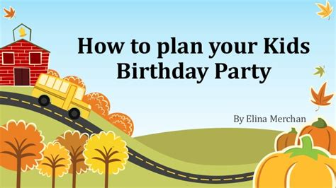 how to plan your birthday