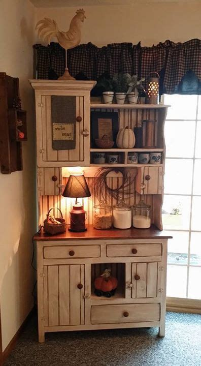 kitchen hutch decorating ideas 1000 ideas about primitive hutch on primitive