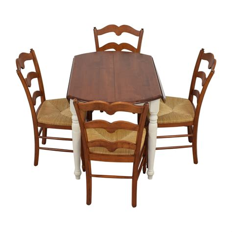 dining table set with leaf 86 multicolored wooden dining set with leaf