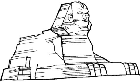 Sphinx Coloring Page Egyptian Sphinx Cartoon Check Out Egyptian Sphinx Cartoon by Sphinx Coloring Page